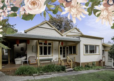 Benwerren is a Short term retreat for Mothers and their children in the Yarra Valley, Victoria